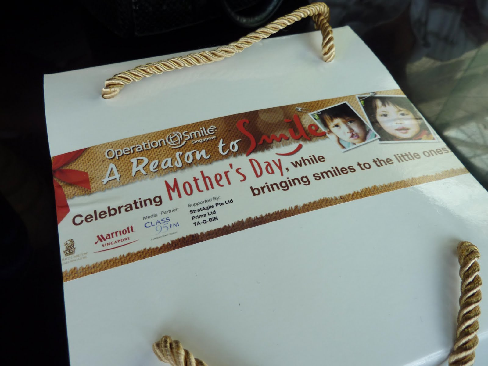 Operation Smile Singapore Mothers Day Cake
