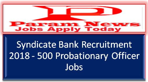 syndicate-bank-recruitment-po-posts-paramnews