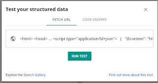 testing your structured data
