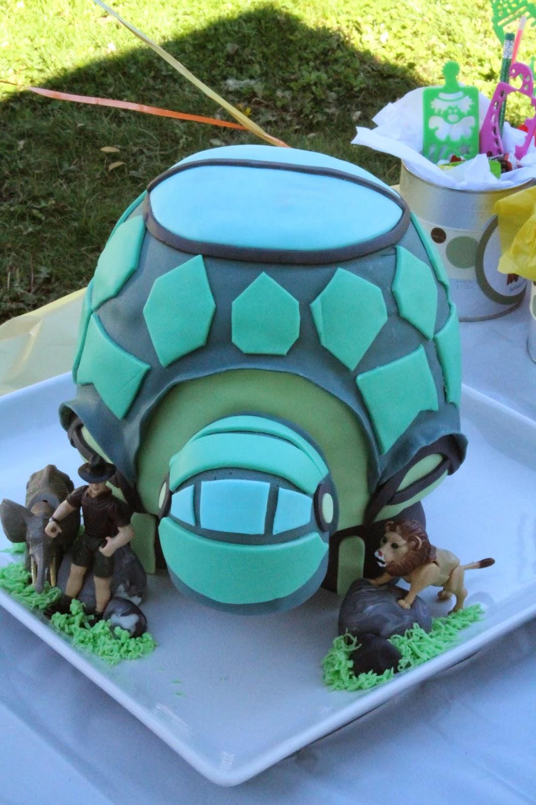 Sarah Leavitts Cakes Wild Kratts Tortuga Birthday Cake
