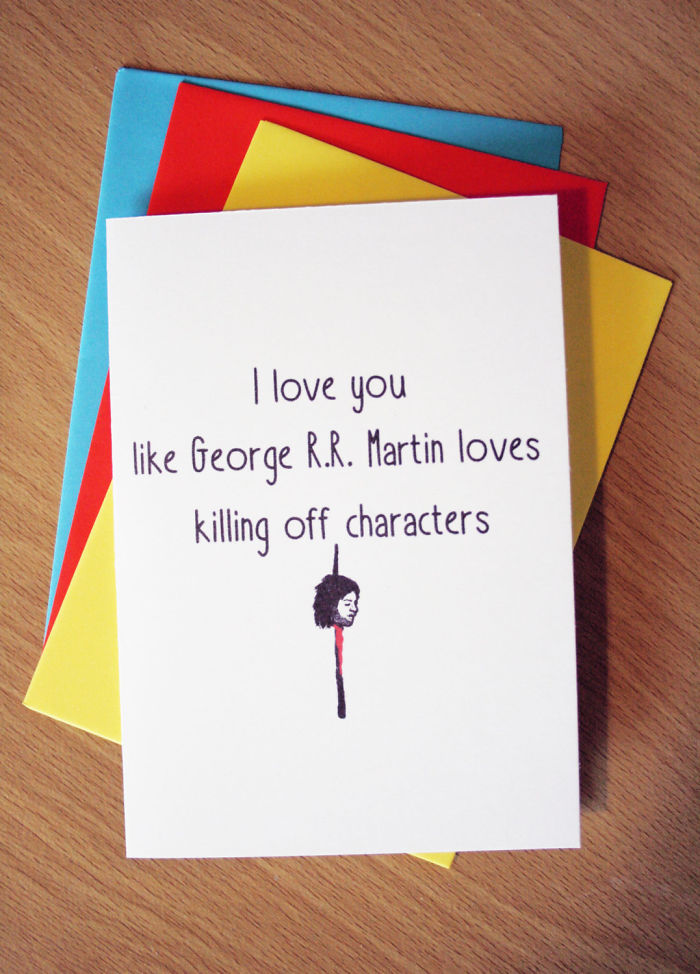 I love you like George