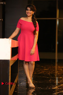 Actress Anchor Manjusha Latest Pictures in Pink Short Dress  0206