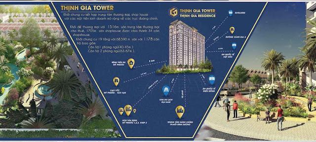 Căn hộ Bến Cát Bình Dương - Thịnh Gia Tower