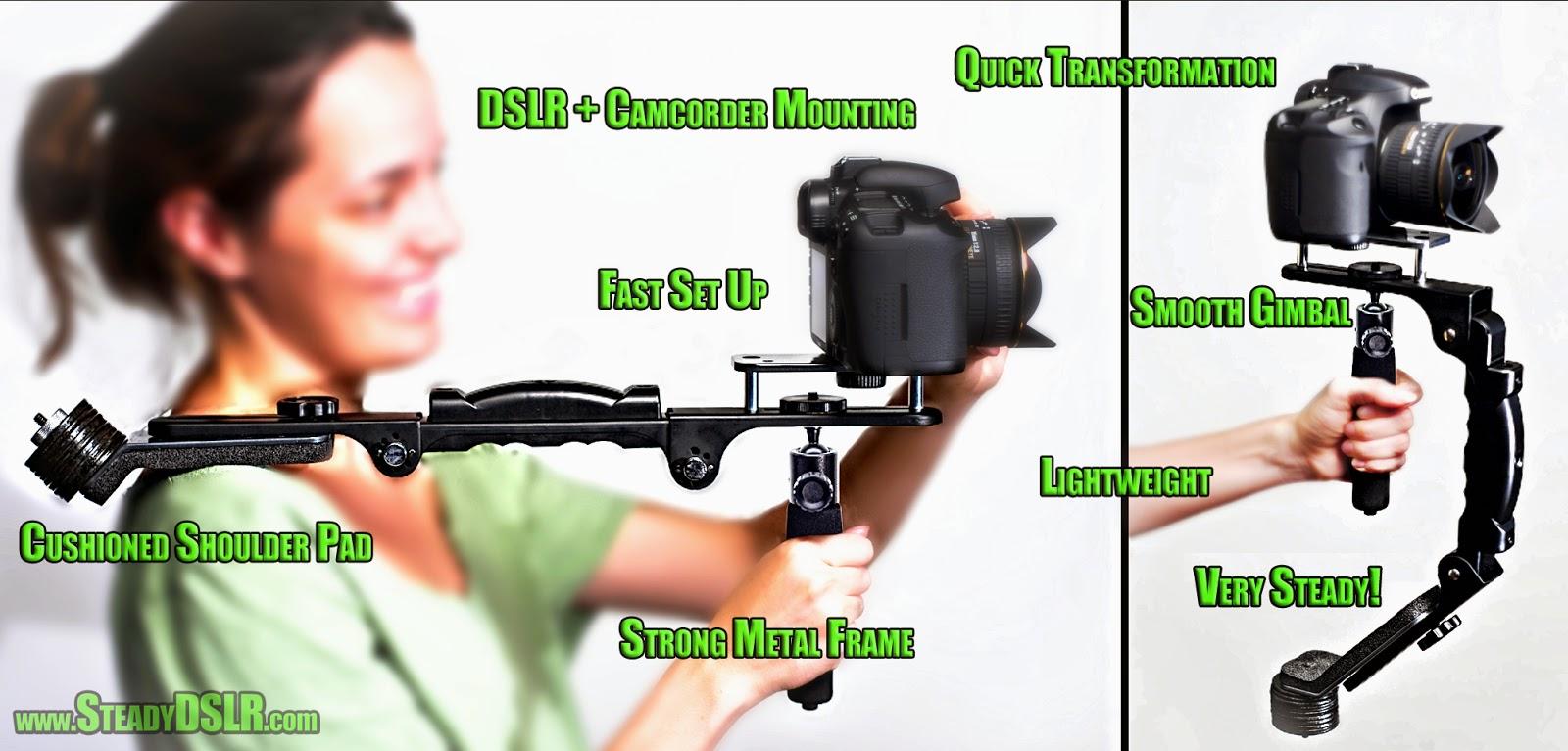Camera Dslr Video Camera Stabilizer check out this two in one video camera stabilizer a glidecam glidecamsteadicam shoulder support