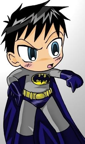 BatMan Chibi Comics