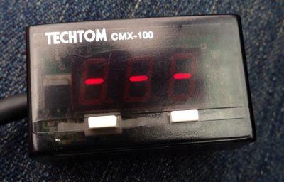 HONDA車用テクトムCMX100動作実験表示考え中