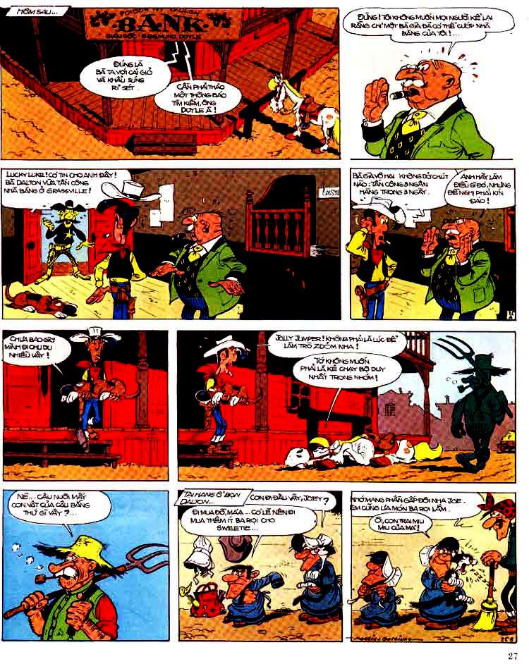Lucky Luke tap 15 - ma dalton trang 28