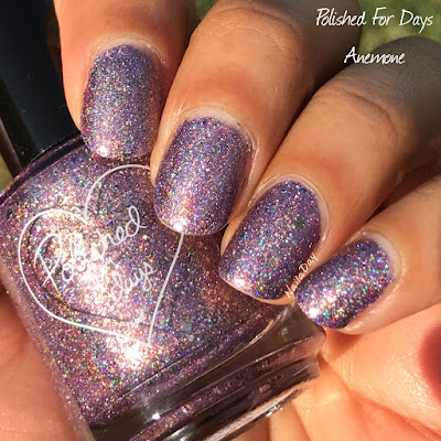 NailaDay: Polished For Days Anemone