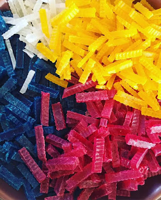 agar-agar kering, resepi agar-agar kering, cara membuat agar-agar kering, bahan membuat agar-agar kering,