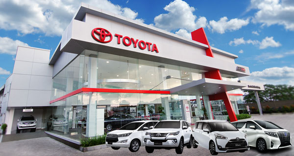 Dealer Toyota Auto 2000 Sungkono Surabaya