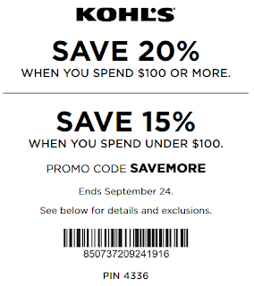 Kohls Yes pass coupon 20% OFF $100 Order