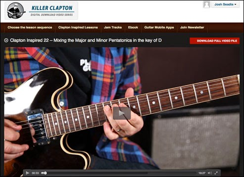 """Found my passion guitar: review of the """"hendrix revealed"""" course."""