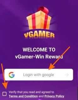 vgamer app register