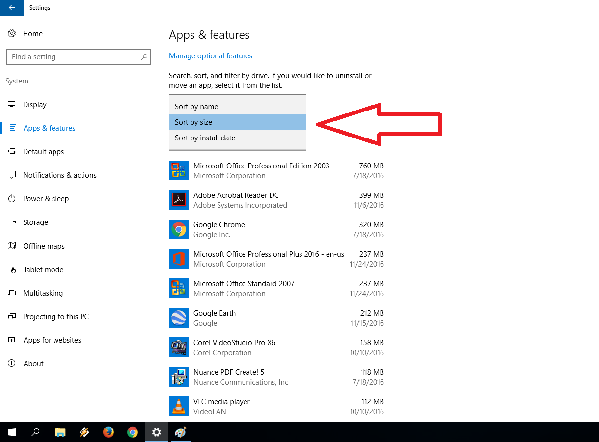 Learn New Things: How to Know which App Taking More Space ...