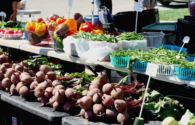 Fresh produce at the Kenosha Harbormarket