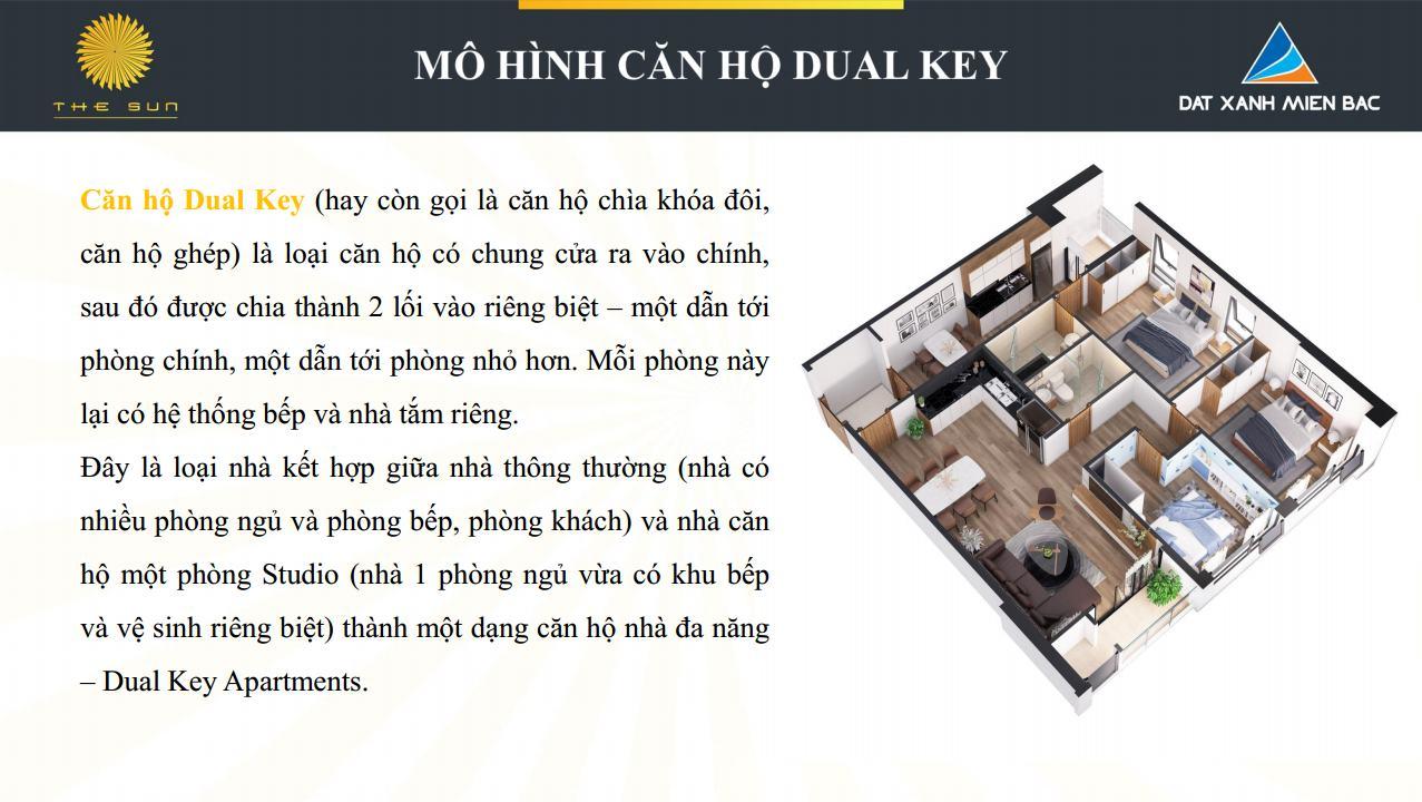 mô hình căn hộ dual key1