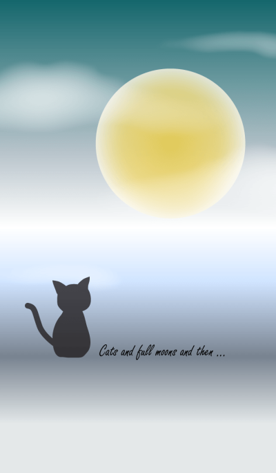 Cats and full moons and then ...