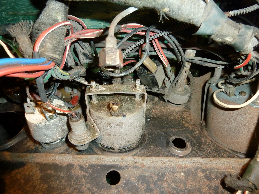 MG Midget 1965 MKII Restoration Project: Wiring Expeditions