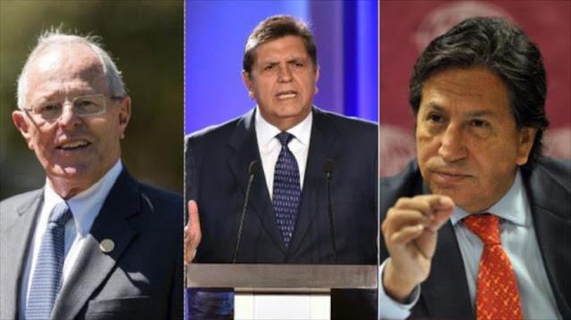 Expresidentes de Perú enfrentan investigación por caso Odebrecht