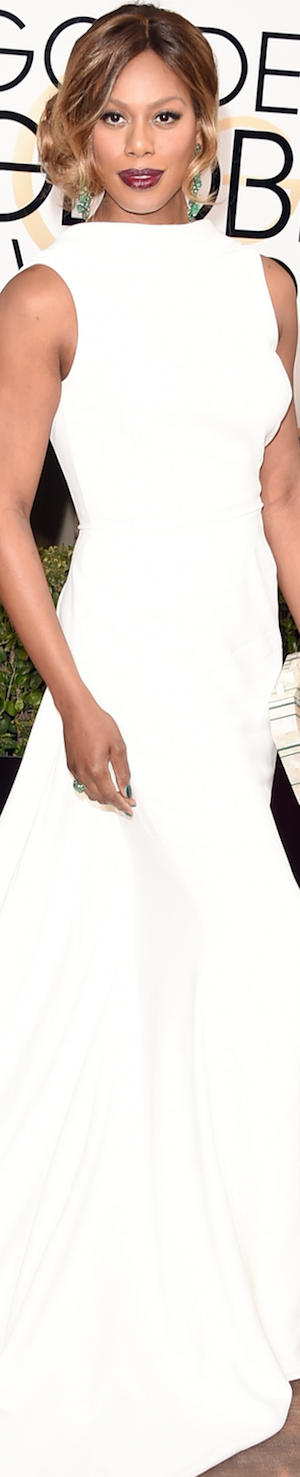 Laverne Cox 2016 Golden Globes