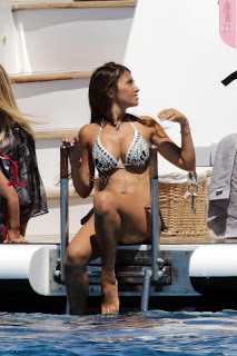 Antonella Roccuzzo Huge   in Bikini June 2017 ~ Celebs.in Exclusive