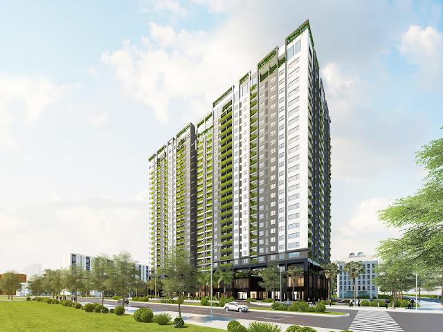 Phối cảnh dự án chung cư Anland Premium