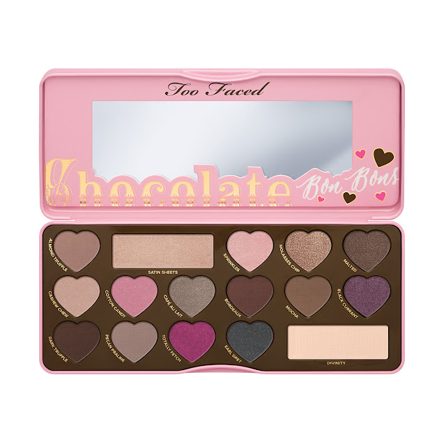 too faced palette ombretti sephora