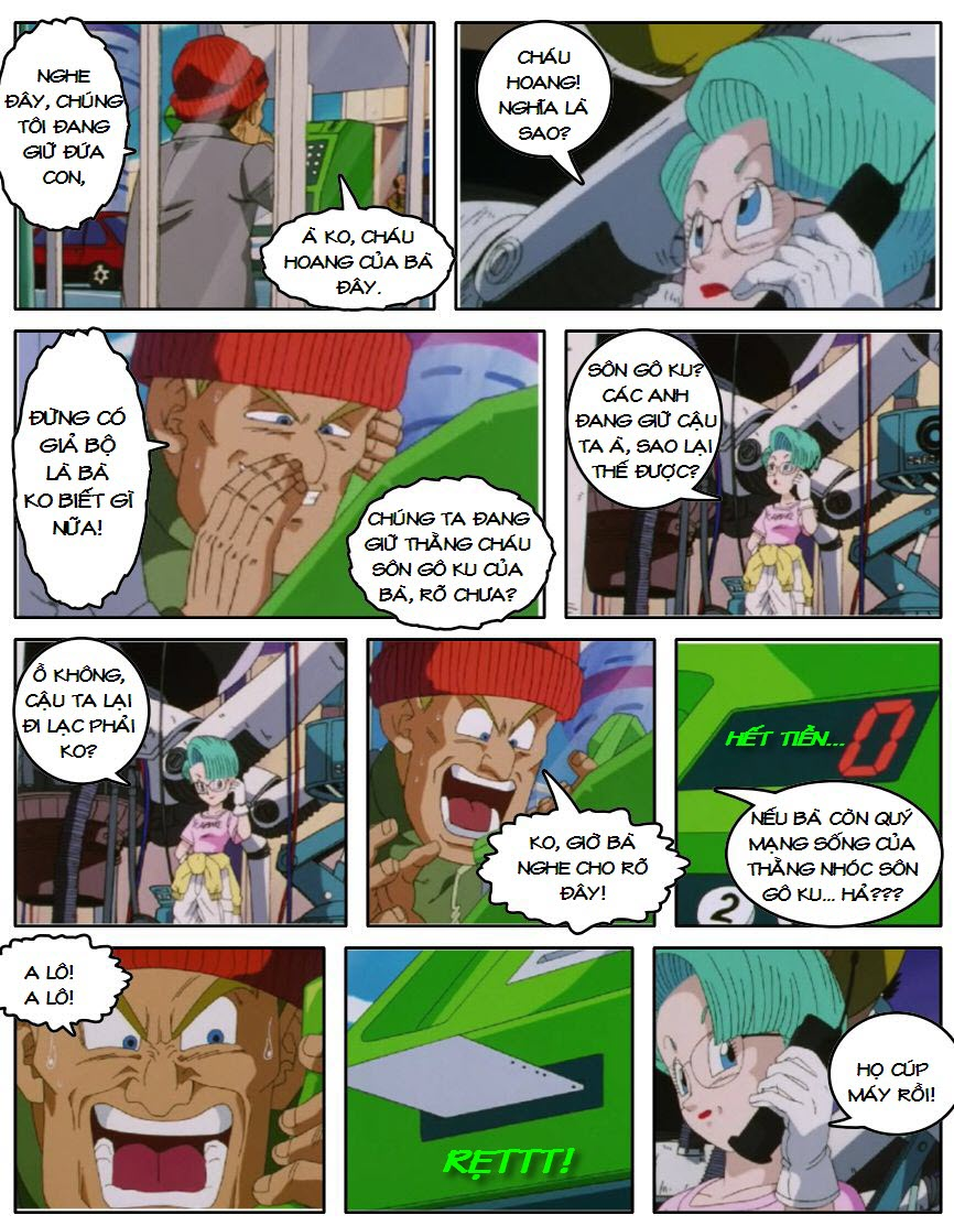 Dragon Ball GT chap 5 - Trang 5