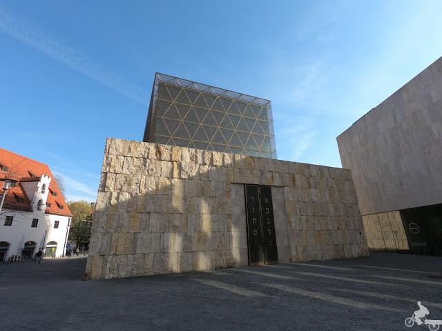 La nueva Sinagoga de munich