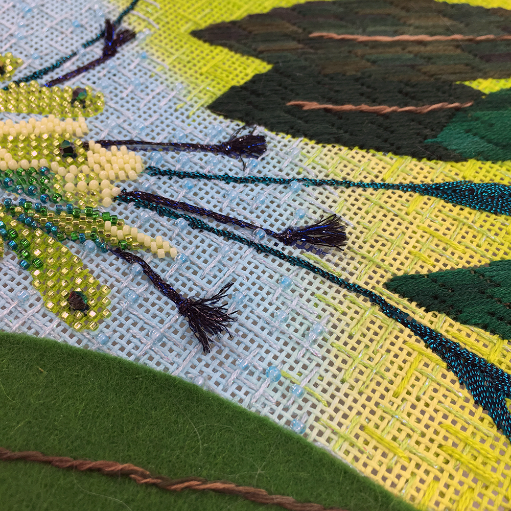 Leaves, Leaves, So Many Leaves! - - Bedecked and Beadazzled