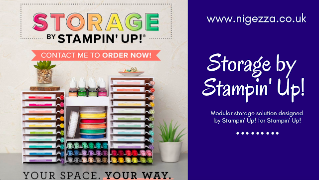 Stampin' Up! Storage Nigezza Creates