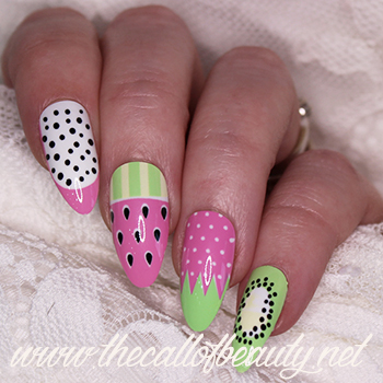 Fresh Fruit manicure