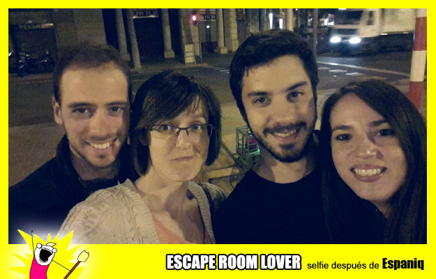 """Opinión sobre escape room: Espaniq """"El maníaco"""" - Barcelona"""