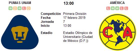 Pumas UNAM vs América en VIVO