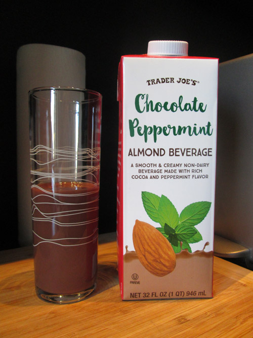 Trader Joe's Chocolate Peppermint Almond Beverage