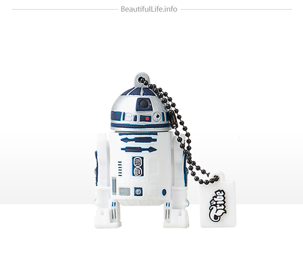 Homenaje a Star wars con memoria flash o usb- R2 D2