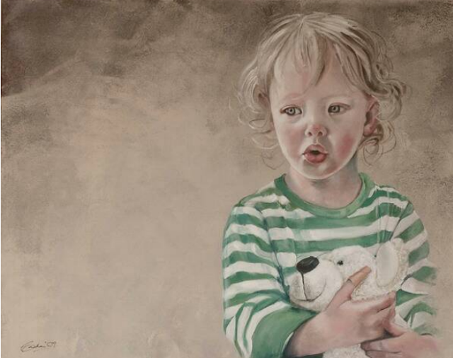 Portrait Paintings By Irish Artist 'Neil Condron'