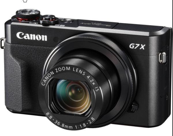 Harga dan Spesifikasi Kamera Canon PowerShot G7 X Mark II  4573abb870