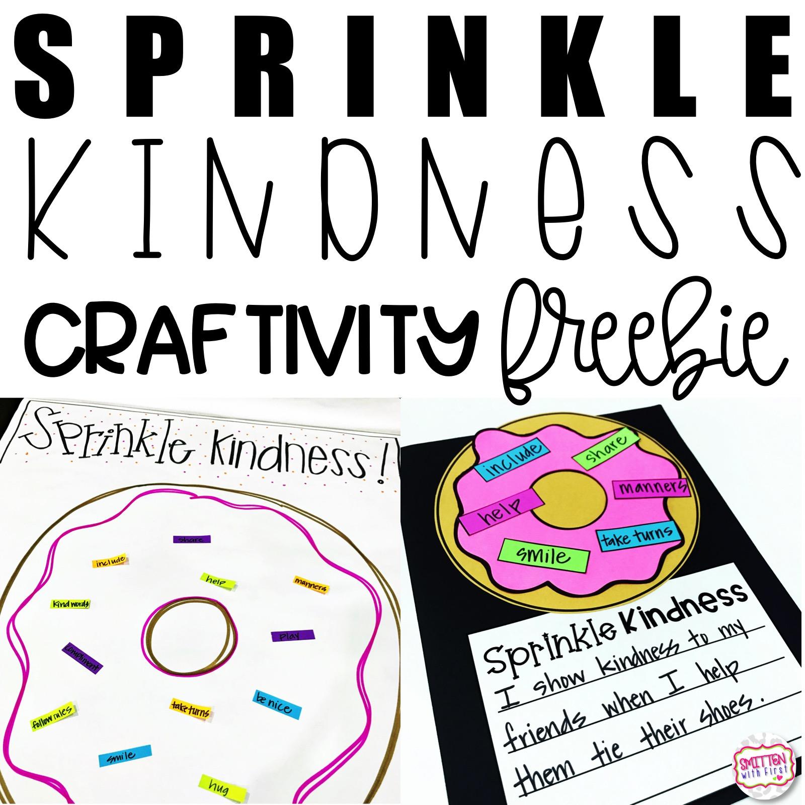 Sprinkle Kindness Freebie