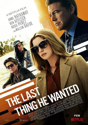 The Last Thing He Wanted 2020 HDRip 720p Dual Audio In Hindi English