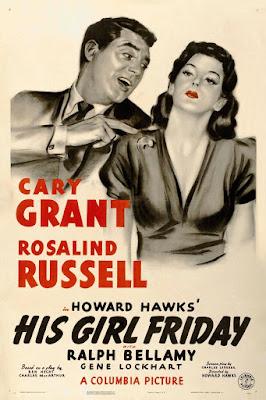 Luna nueva (His Girl Friday) - 1940 - Película