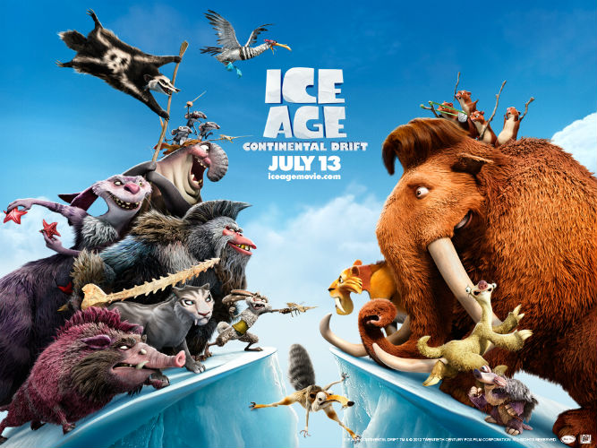 ice age continental drift 2012 DVD