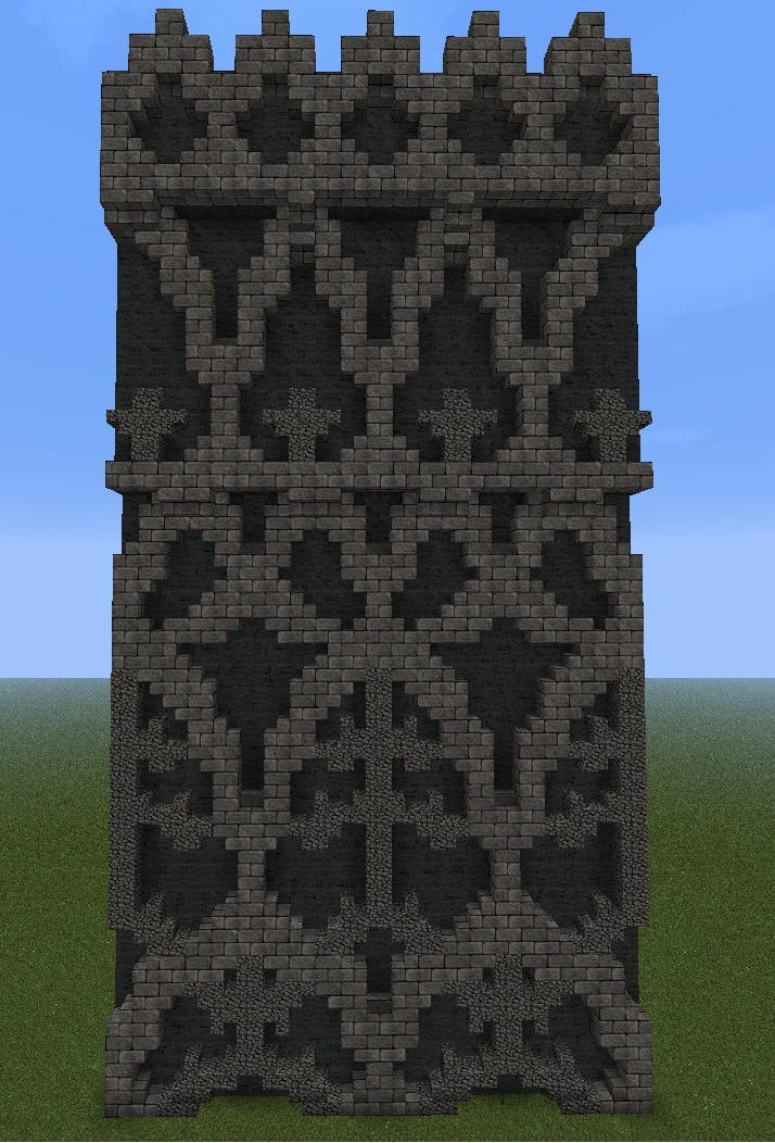 Minecraft Decoration Building Decoration Ideas To Build Walls In