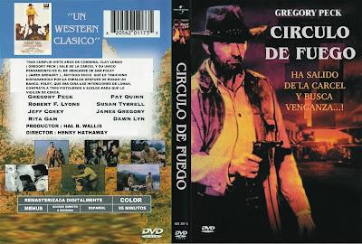 Carátula dvd: Circulo de fuego (1971)