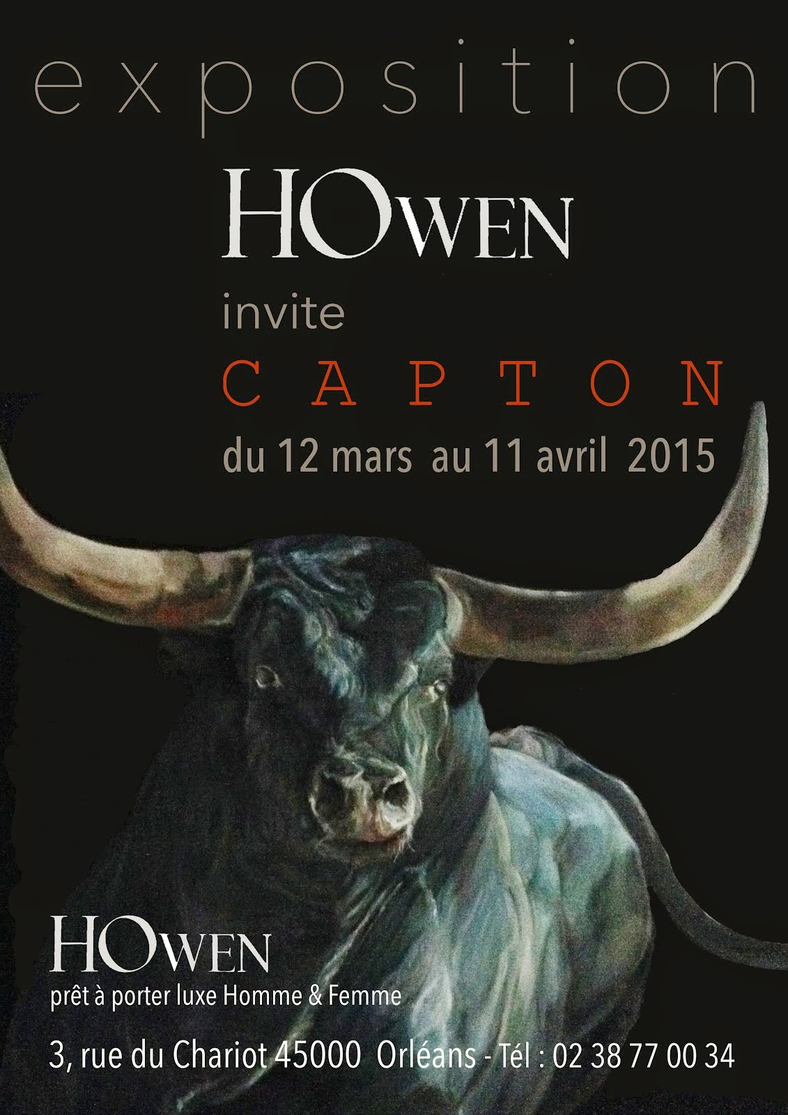 ORLEANS : HOWEN INVITE CAPTON