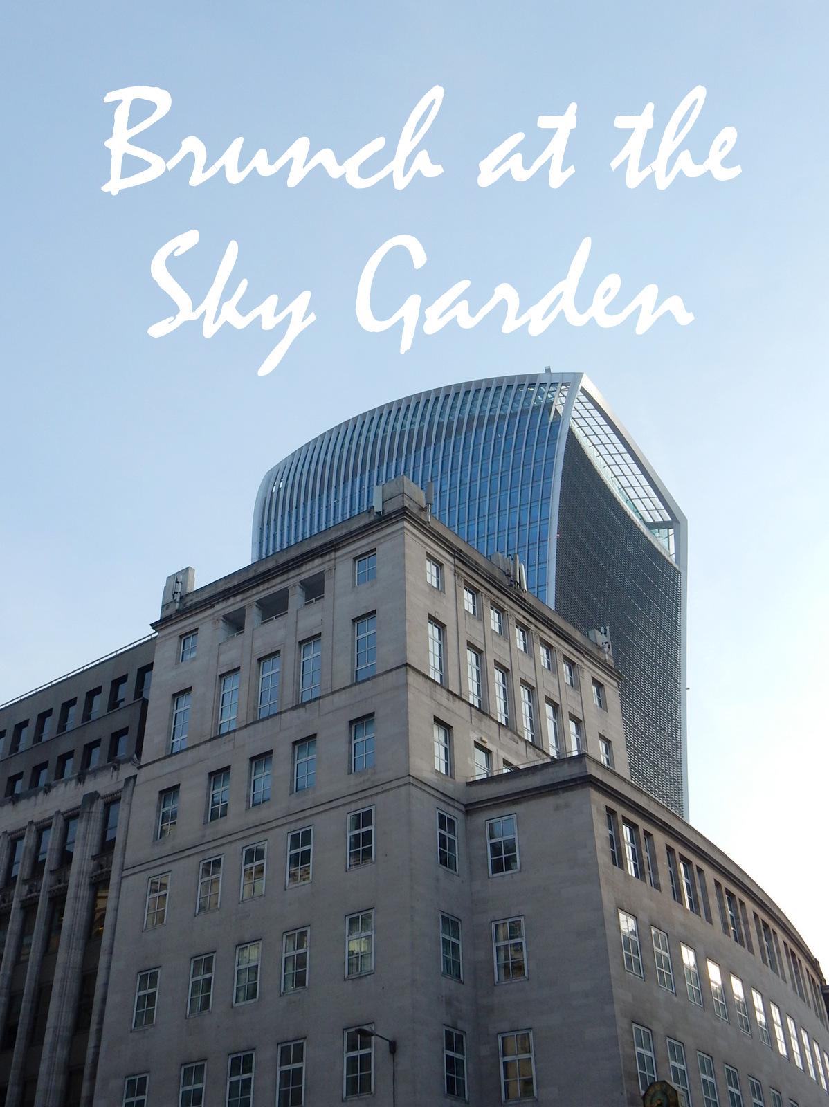 Darwin Brasserie Walkie Talkie Brunch with a view Adventures of a London Kiwi