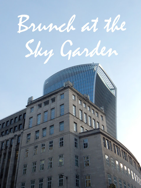 Darwin Brasserie Walkie Talkie Brunch with a view Adventures of a London Kiwi