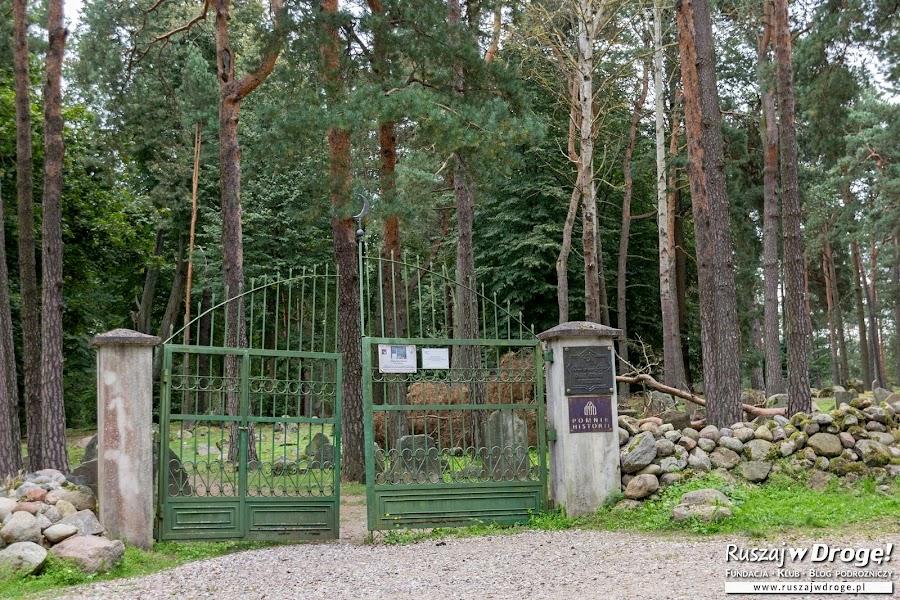 Mizar - cmentarz muzułmański w Kruszynianach
