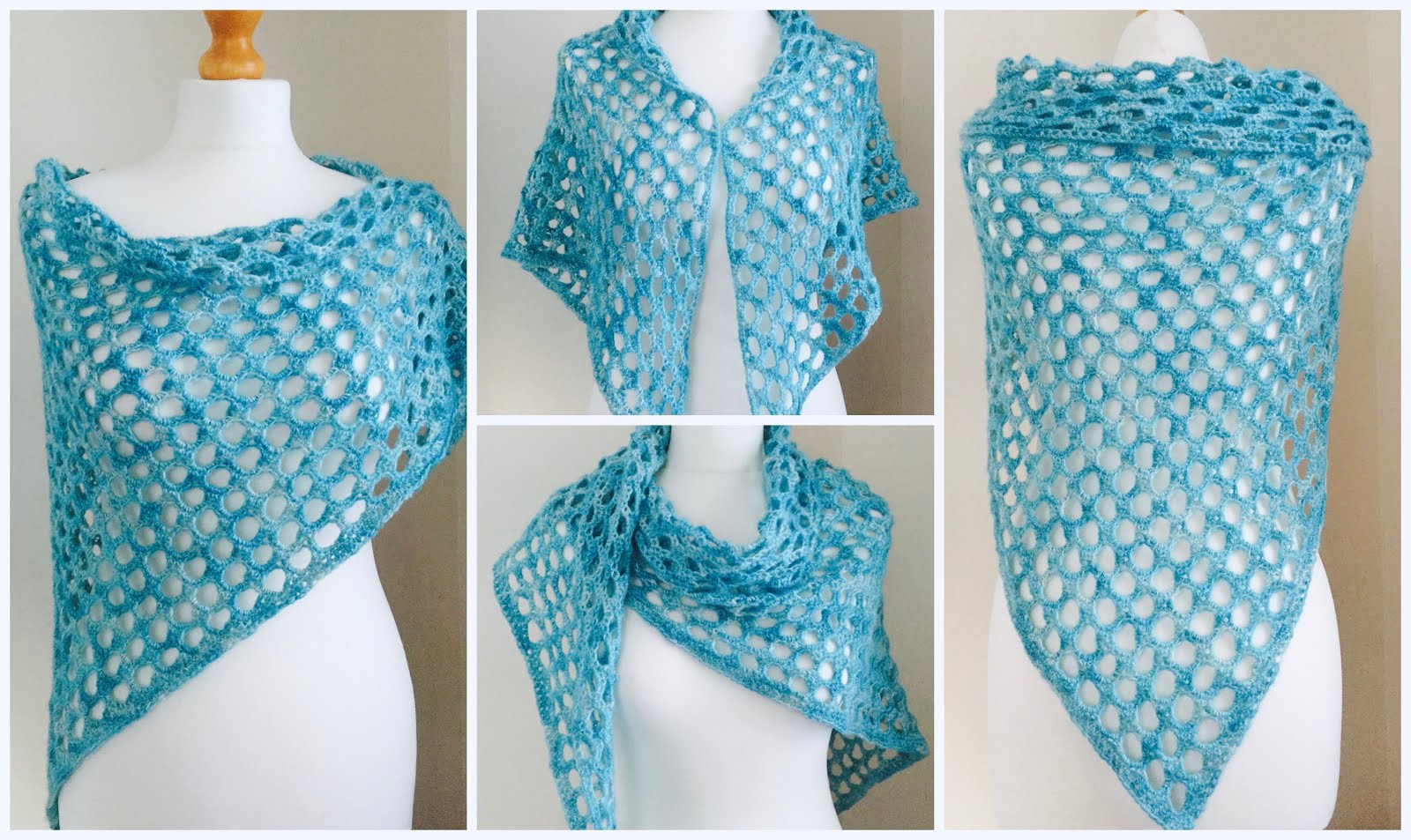 Free Crochet Patterns For Summer Shawls ~ Dancox for
