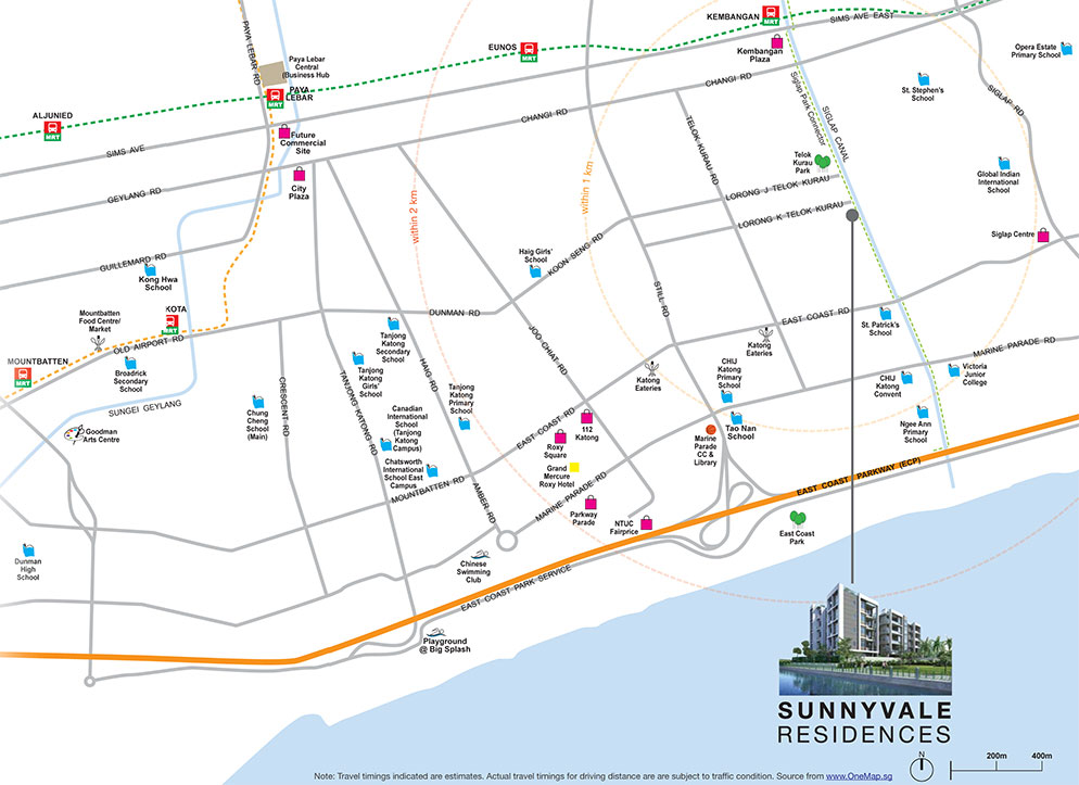 Sunnyvale Residences Location Map